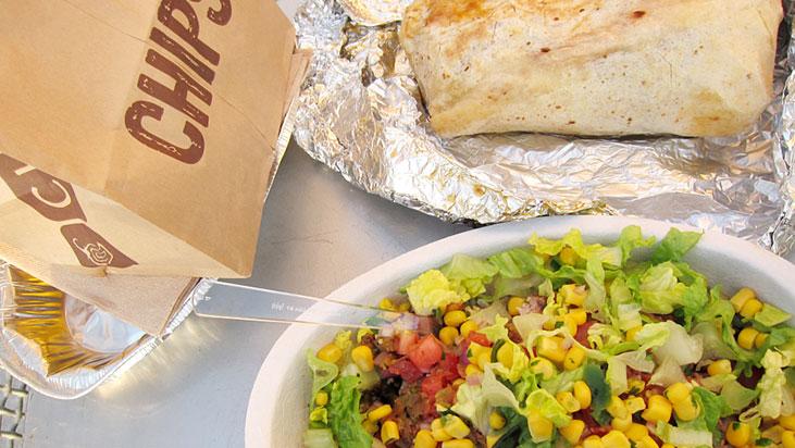 chipotle chips bowl burrito