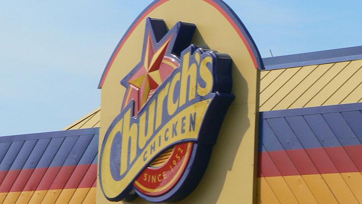church's chicken exterior