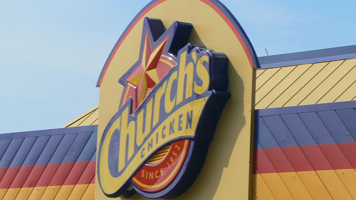 churchs chicken sign