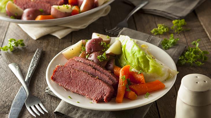 Irish Corned Beef and Cabbage