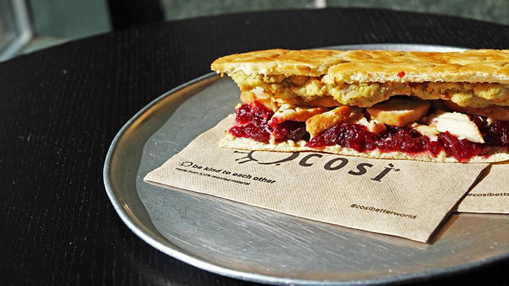 cosi sandwich napkin