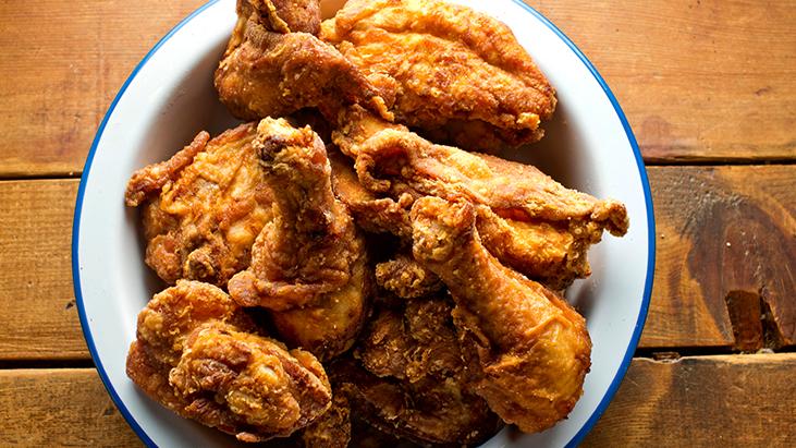 crispy fried chicken comfort food