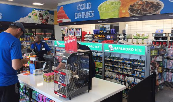 A Look Inside the New Walmart Fuel Station