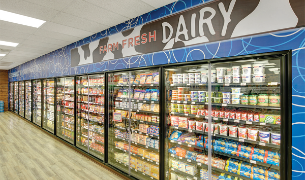 Inside the New Kim's Convenience Store