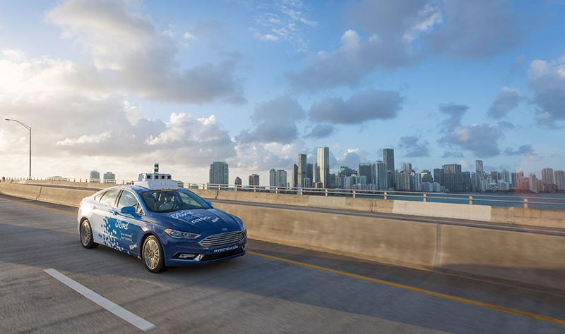 ford autonomous delivery testing