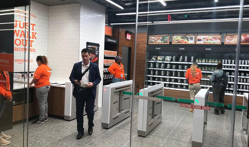 amazon go entrance