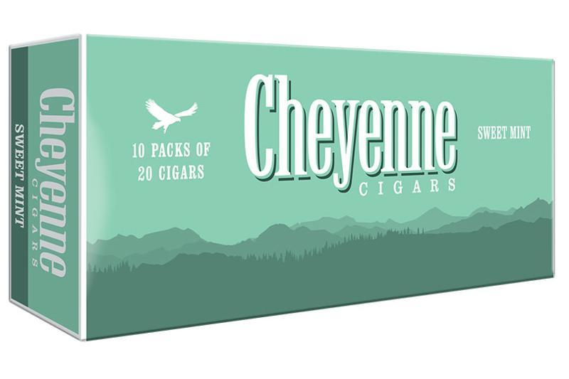 cheyenne cigars sweet mint carton