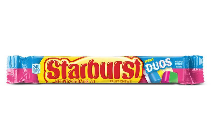 starburst duos chew single stick