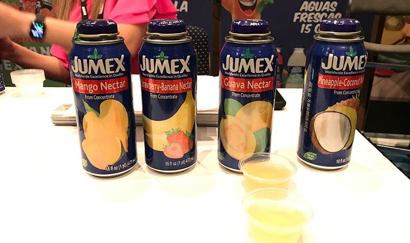 mclane sun sand and sales trade show jumex nectar drinks