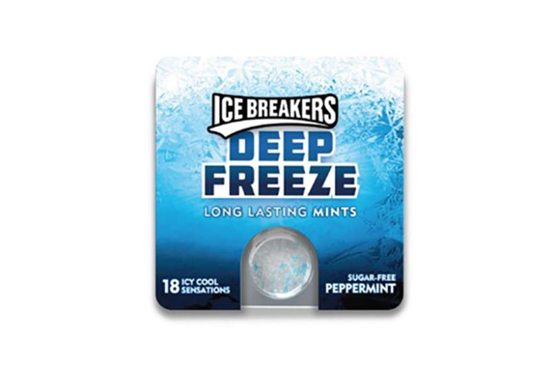 ice breakers deep freeze peppermint