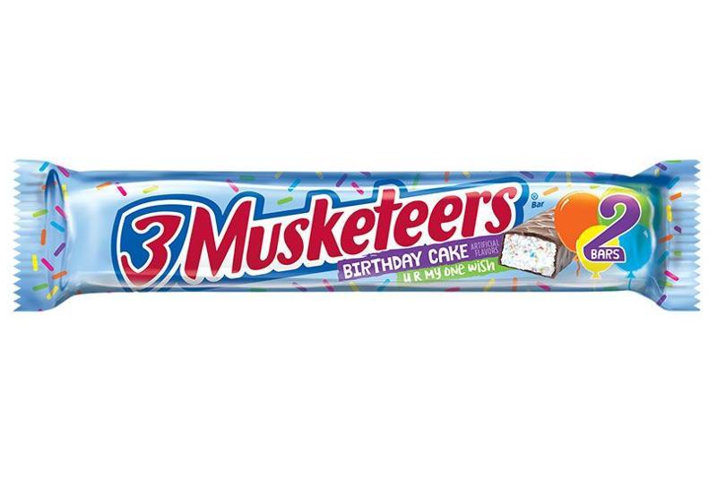 3 musketeers birthday cake single