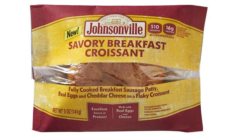 johnsonville savory breakfast croissant