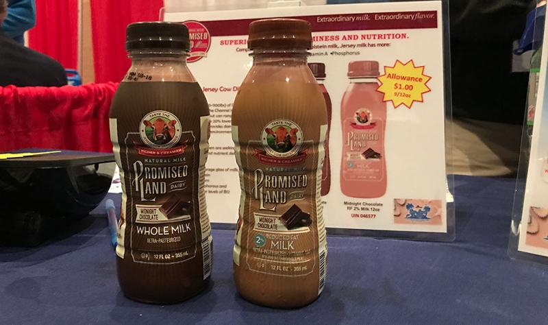 mclane sun sand and sales trade show promised land dairy drinks