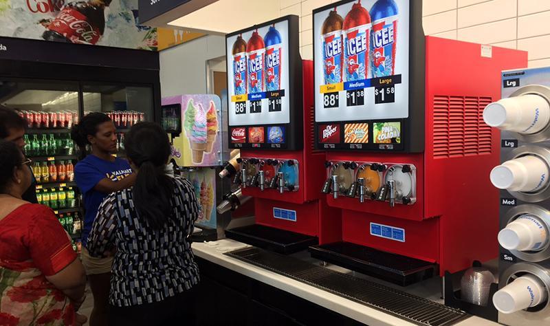 walmart icee machine
