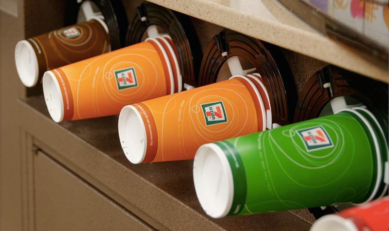 7-Eleven coffee cups