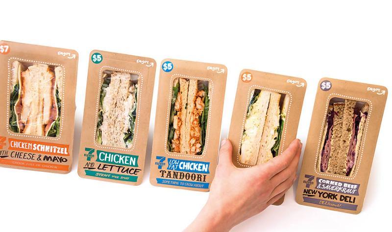 7-Eleven sandwiches