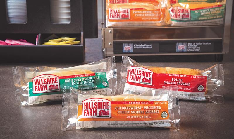 tyson foods hillshire farms sausage rolls