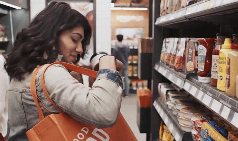 Amazon Go shopper