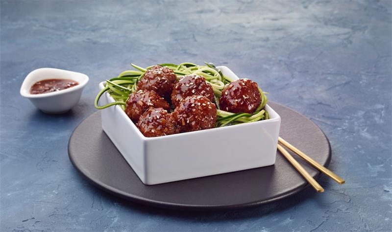 butterfall foodservice singapore meatballs and zoodles