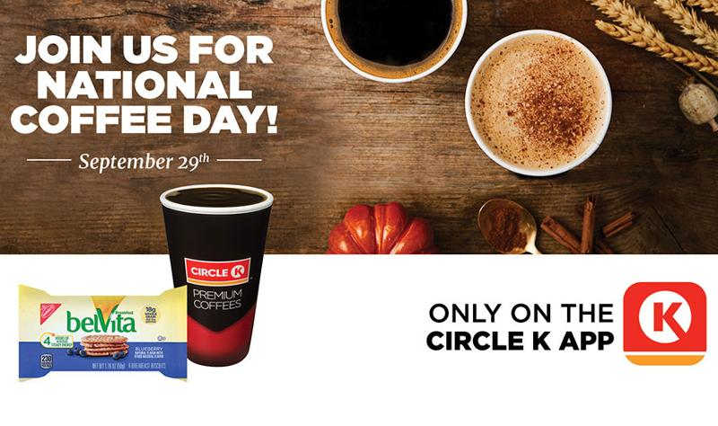 circle k national coffee day
