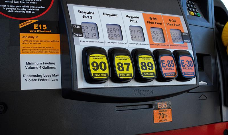Different fuel varieties