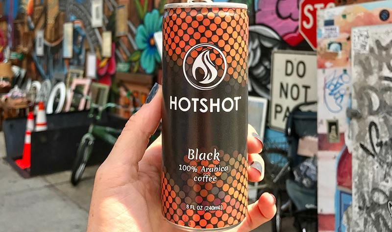 hotshot canned coffee