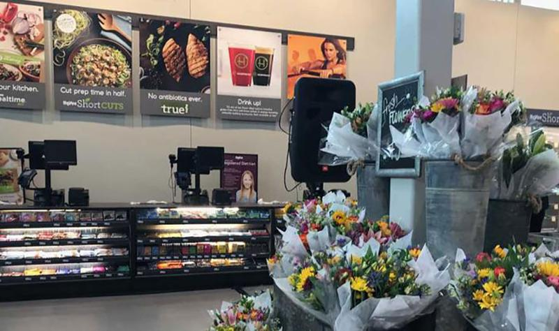 hyvee health market flowers