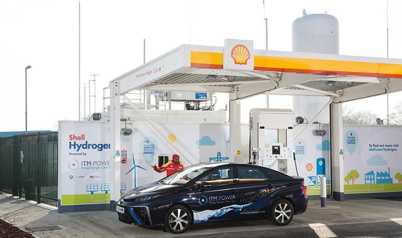 Shell Hydrogen pump