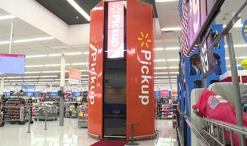 Wal-Mart Pickup Tower