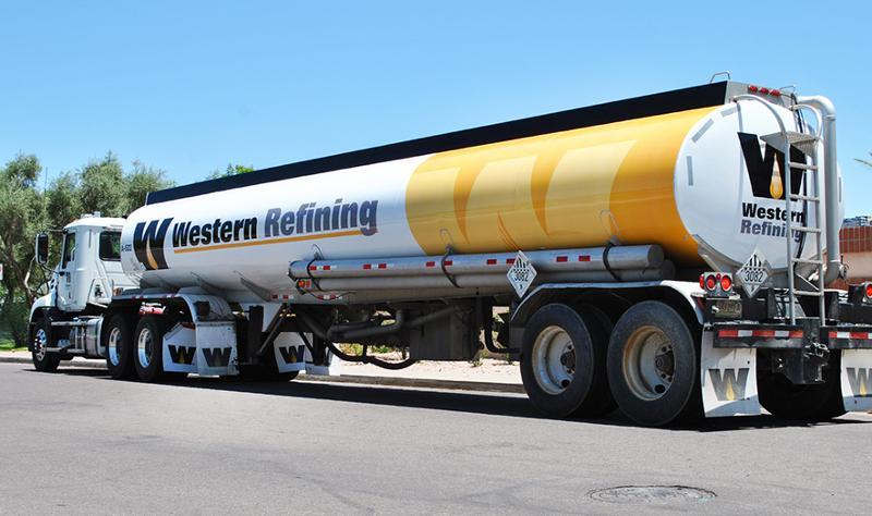 Western Refining truck