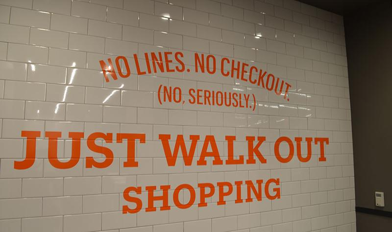 amazon go just walk out sign