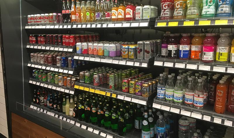 amazon go packaged beverages