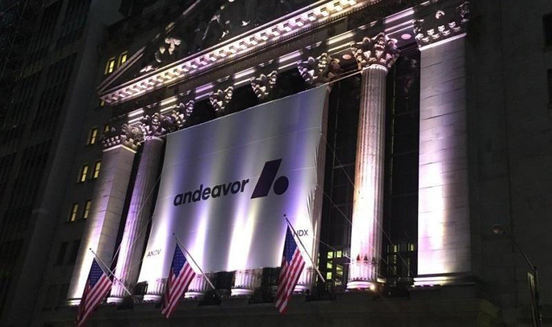 Andeavor logo NYSE
