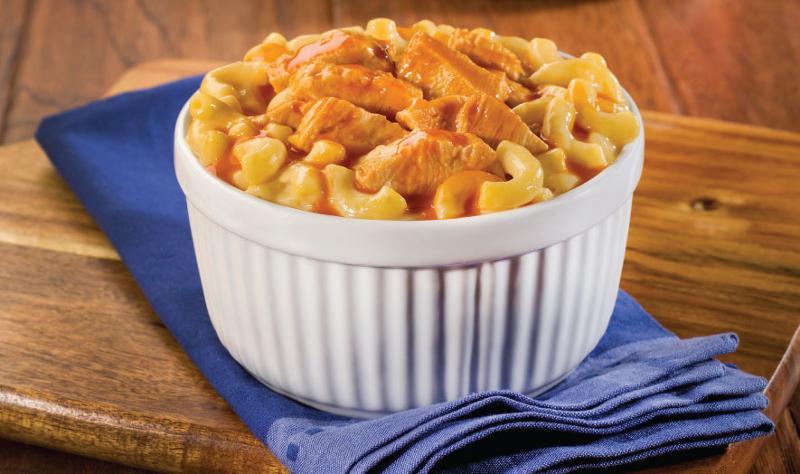 Nice N easy's Angry Chicken Mac N Cheese Bowl