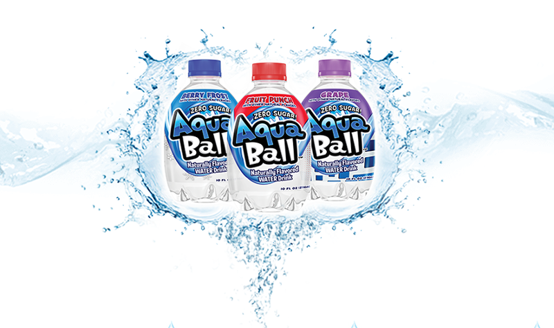 AquaBall bottled water