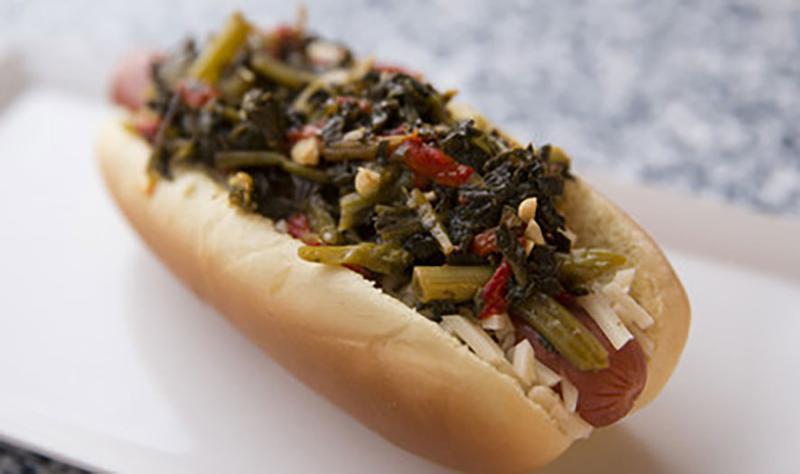 aramark hot dogs