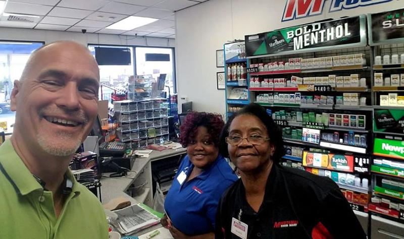 tom bandy and c-store employees