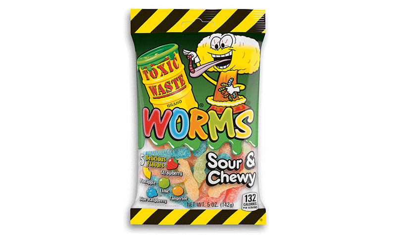 Sour & Chewy Bears and Worms