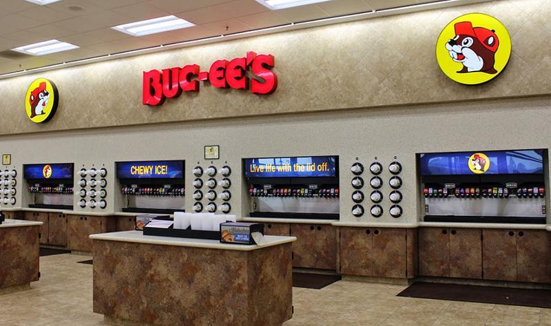 Buc-ee's fountain drinks