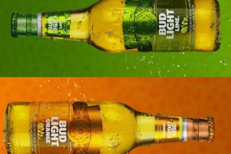 bud light lime and orange