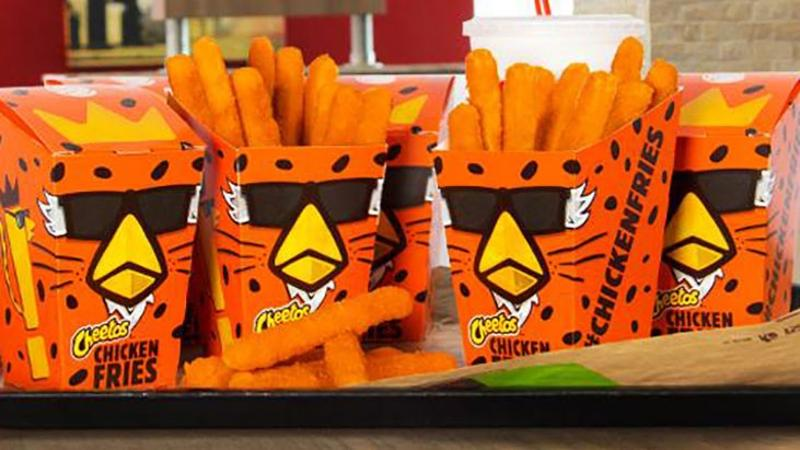 Burger King's Cheetos Chicken Fries