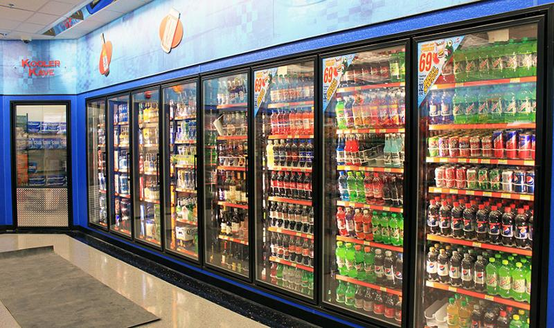 Convenience store cooler