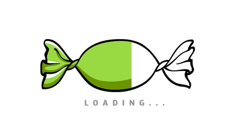 candy loading
