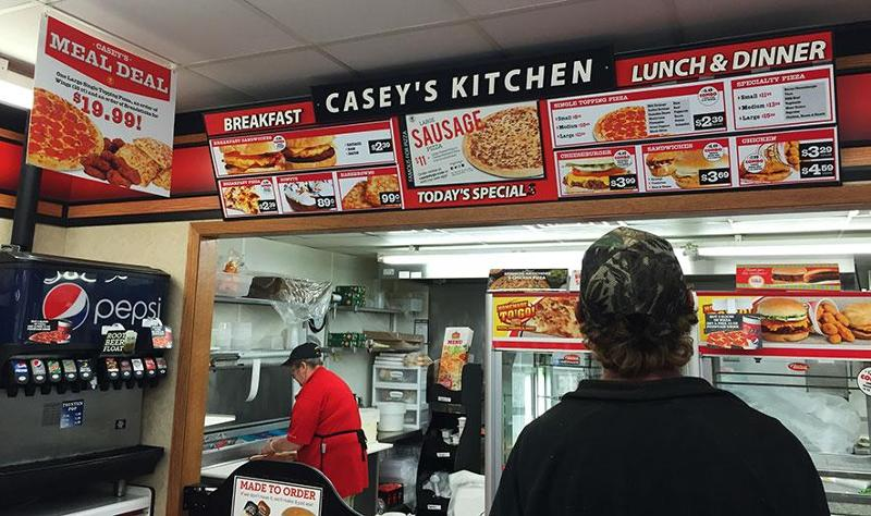 Casey's foodservice