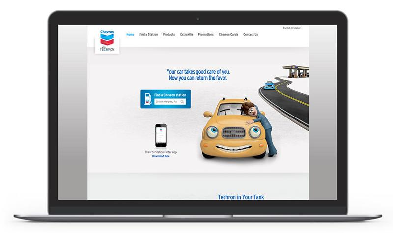 Chevron website