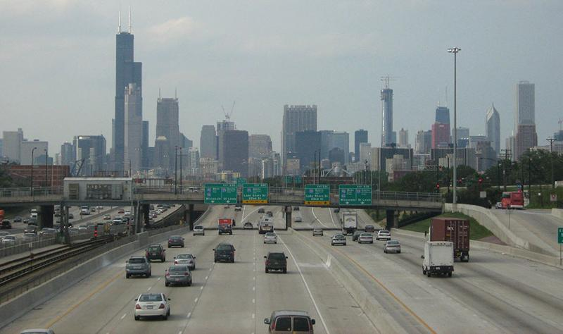 chicago dan ryan expressway