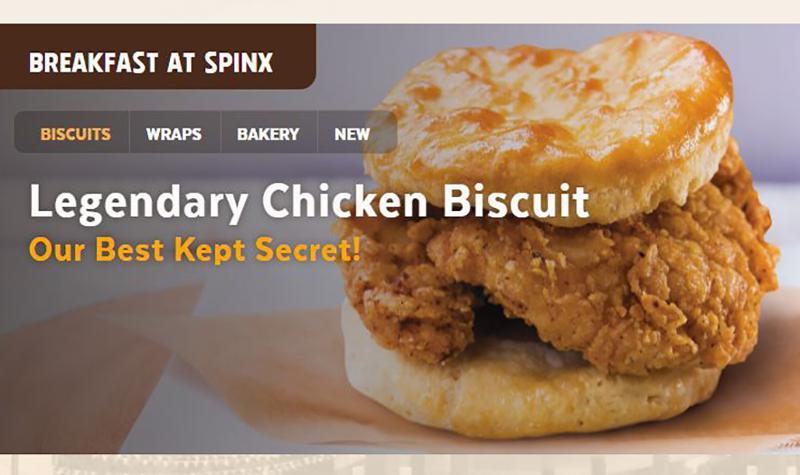 Spinx Legendary Chicken Biscuit