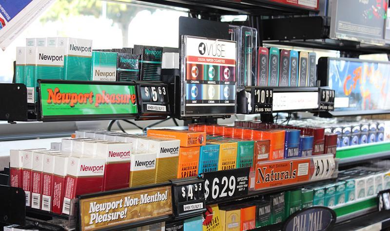 cigarette wall