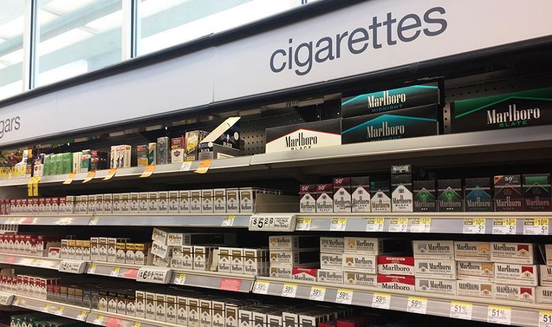 Walgreens cigarettes