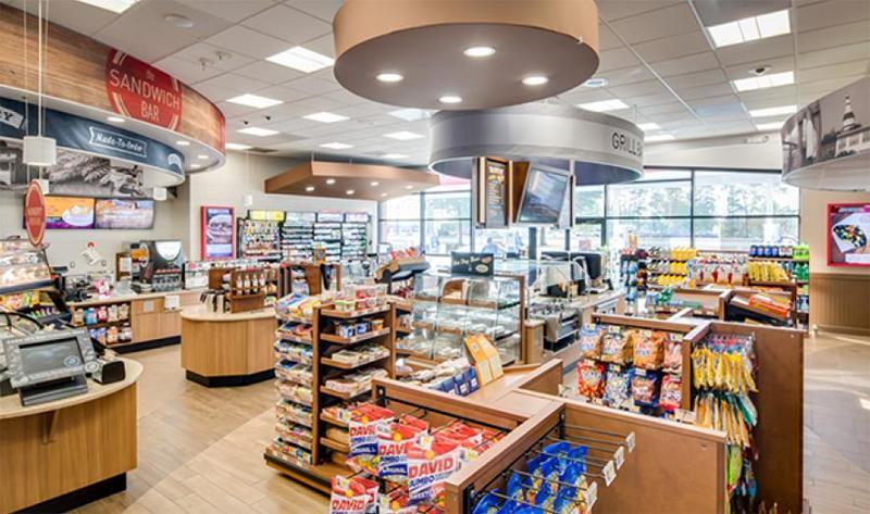 Clean convenience store